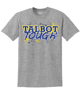 Hampton Central Talbot Tough - 8000B Youth 50/50 Sport Grey Tee