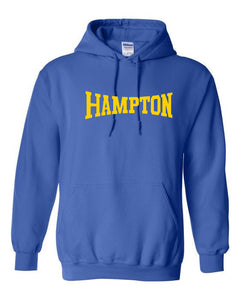 Hampton Central - 18500 Royal Blue Pullover Hoodie
