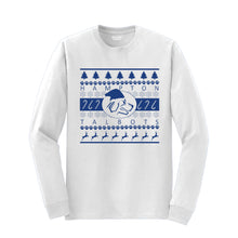 Load image into Gallery viewer, Hampton Band Holiday - 8400 White Long Sleeve Tee