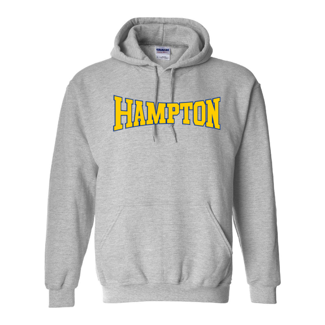 Hampton Central - 18500 Sport Grey Pullover Hoodie