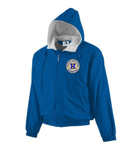 Hampton Embroidered Design - 3280 Royal Blue Fleece Lined Jacket