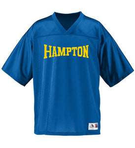 Hampton Central - 258 Youth Royal Blue Stadium Replica Jersey