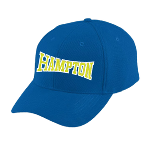 Hampton - 6265 Baseball Hat With Text On Back