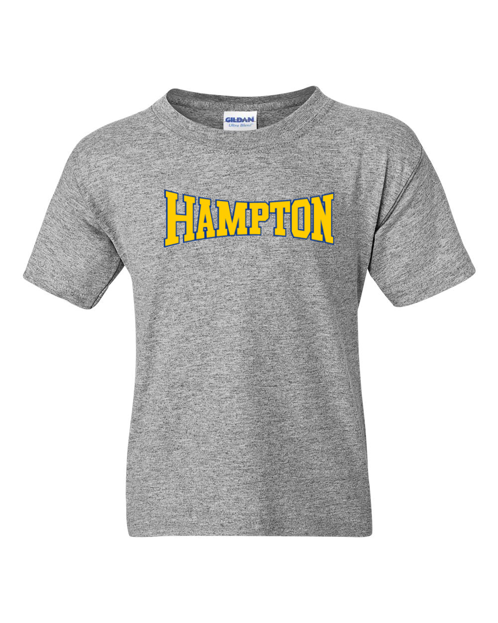Hampton Central - 8000B Youth 50/50 Sport Grey Tee