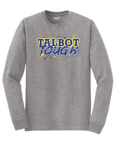 Hampton Central Talbot Tough - 8400 Sports Grey Long Sleeve Tee