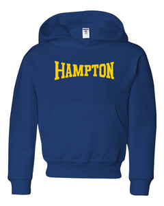 Hampton Central - 996Y Youth Royal Blue Pullover Hoodie
