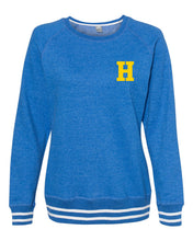 Load image into Gallery viewer, Hampton Central - 8652 Ladie's Royal Blue Crewneck