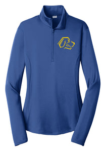 Hampton Talbot - LST357 Ladie's Royal Blue 1/4 Zip