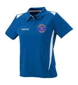Hampton Embroidered Design  With Name - 5013 Ladie's Sports Polo