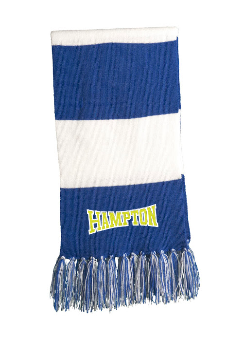 Hampton - STA02 Royal Blue / White Scarf