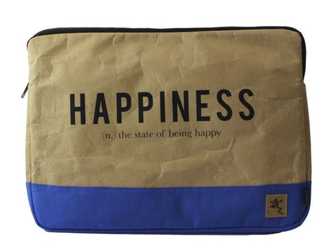 "Funda para laptop de 13"" Happiness Ref. Azul"