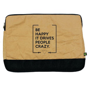 "Funda para laptop de 15"" Be happy"