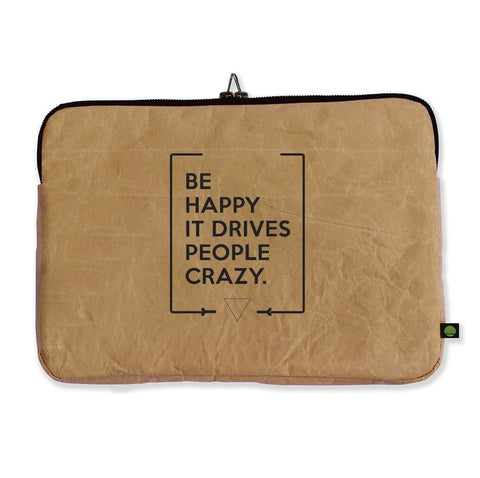 "Funda para laptop de 13"" Be happy"