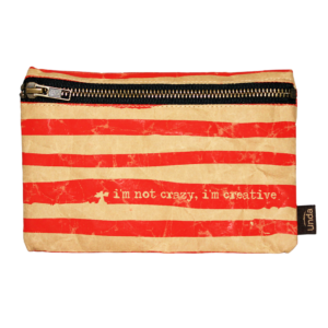 Estuche multiusos I´m not crazy rojo