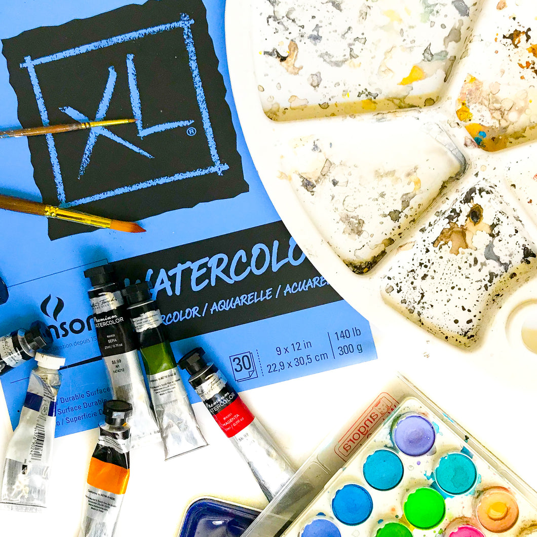 Watercolor Lesson Pack
