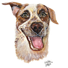 Load image into Gallery viewer, Watercolor Pet Portrait (Mulligan Series)