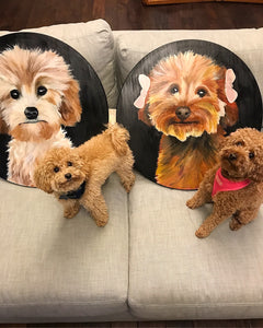Round Pet Portraits