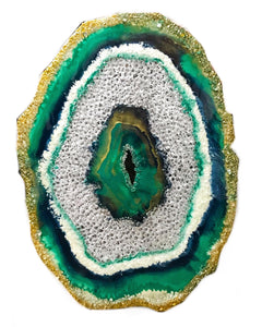 Agate Rock Slice