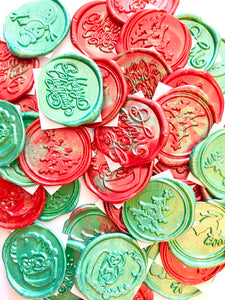Christmas Peel & Stick Wax Seal