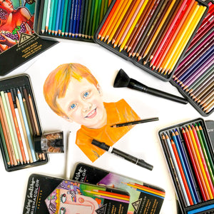 Color Pencil Art Lesson