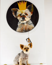 Load image into Gallery viewer, Round Pet Portraits