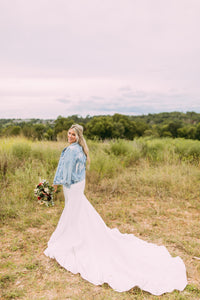 Custom Bridal / Wedding Denim Jackets