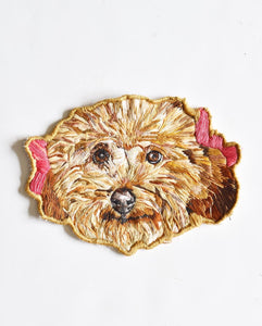 Embroidered Pet Portrait