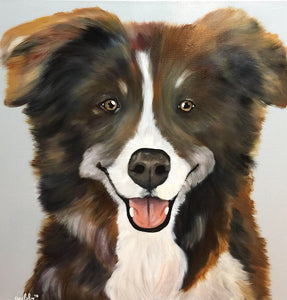 Acrylic Pet Portraits (Mulligan Series)