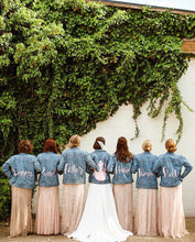 Load image into Gallery viewer, Custom Bridal / Wedding Denim Jackets