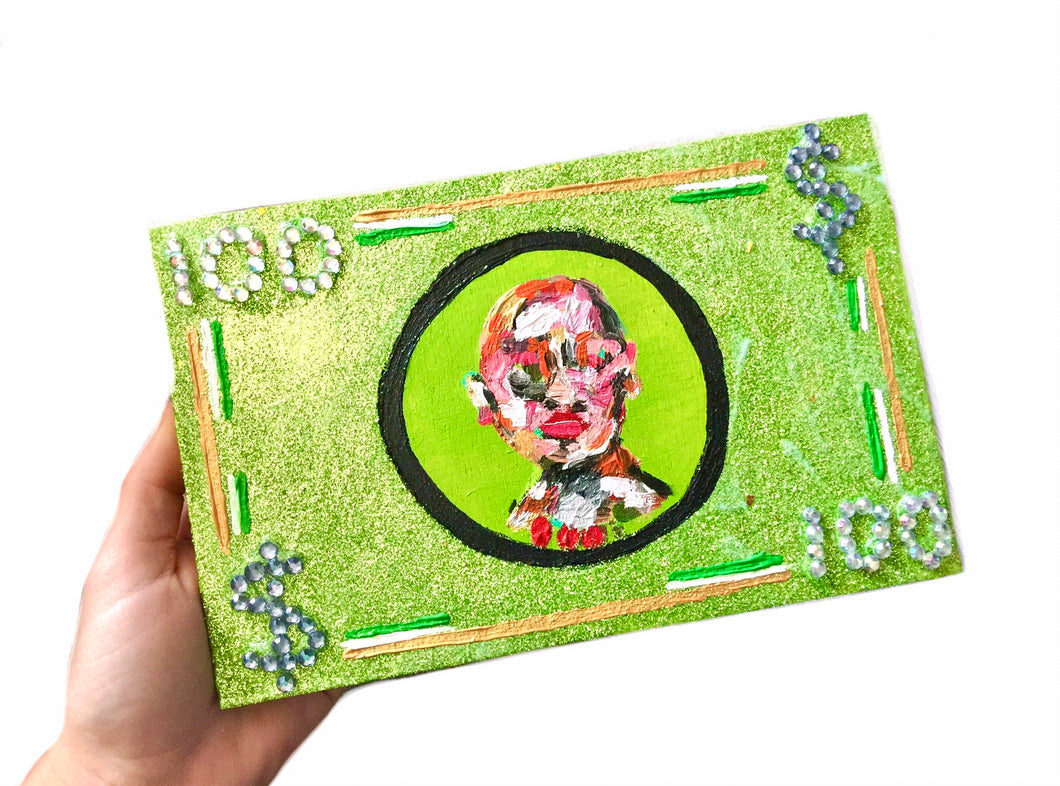Gift Card With Dollar Art