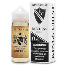 Load image into Gallery viewer, Kings Crest Premium E-Liquid - Duchess