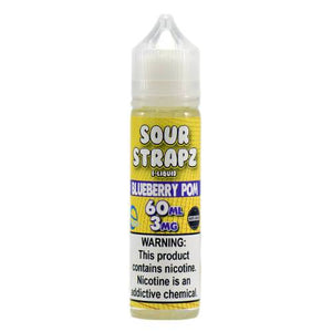 Sour Strapz eLiquid - Blue Pomegranate