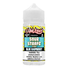 Load image into Gallery viewer, Sour Strapz eLiquid - Blue Raspberry