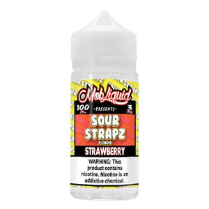 Sour Strapz eLiquid - Strawberry