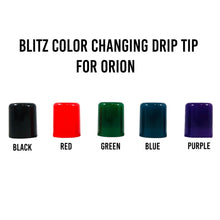 Load image into Gallery viewer, Blitz Color Changing Orion Drip Tip