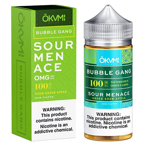 Bubble Gang E-Liquid - Sour Menace
