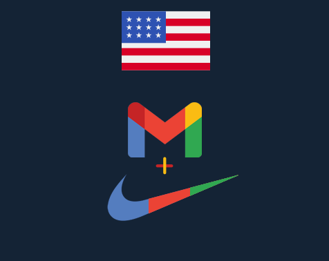 USA ONLY Gmail/Nike Combo Accounts