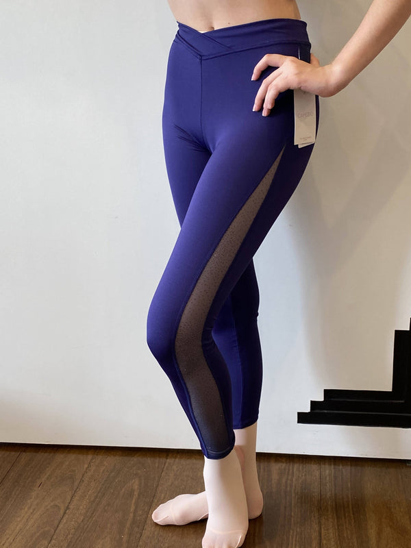 Cross Front Child Legging