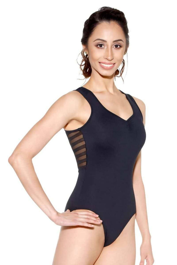 Ladies Mesh Back Leotard