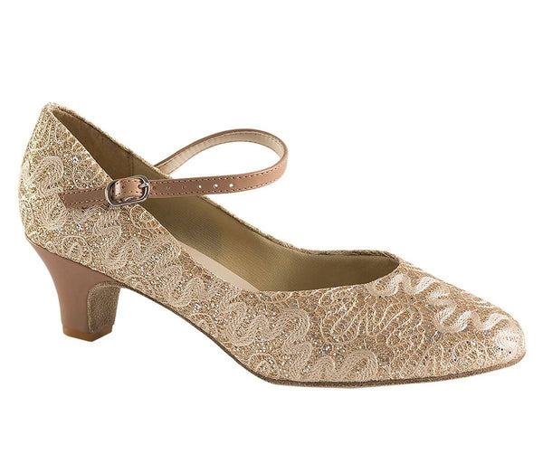 "1.5"" Heel Closed Toe Ballroom Shoe"