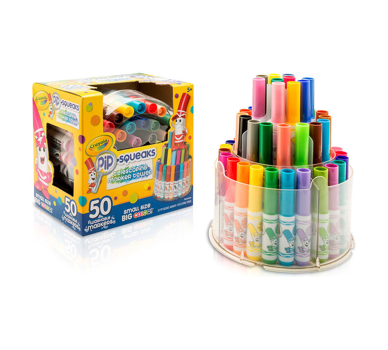 Crayola,Marker,Tower,50 Assorted Colors