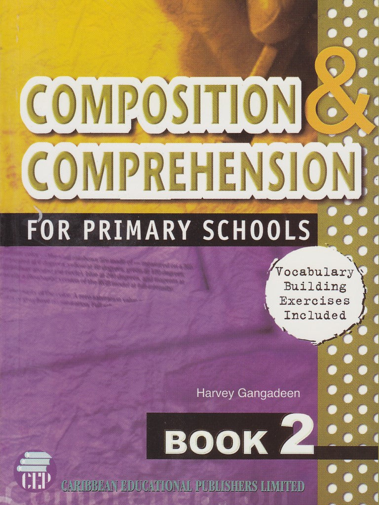 Book,Composition & Comprehension for Primary Schools,Book Two(2)