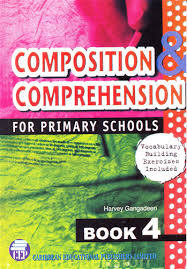 Book,Composition & Comprehension for Primary Schools,Book Four(4)