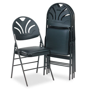 Folding Chair XL Black