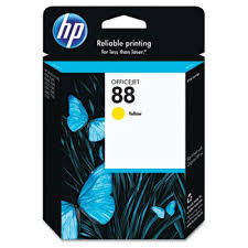 HP,Cartridge Ink #88,Yellow