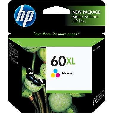 HP,Cartridge Ink #60XL,Tri-Color
