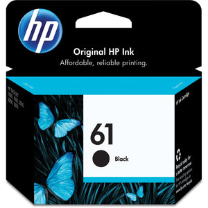 HP,Cartridge Ink #61,Black