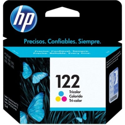 HP,Cartridge Ink #122,F/1050,Tri-Color