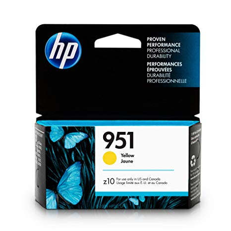 HP,Cartridge Ink #951,Yellow