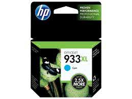 HP,Cartridge Ink #933XL,Cyan